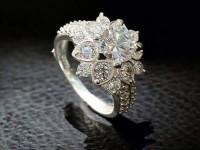 Bộ sưu tập nhẫn bạc nữ đính đá mới nhất 2016