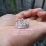 Nhẫn nữ vương miện NNU020