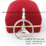 Mặt dây chuyền Mercedes bằng bạc MN017