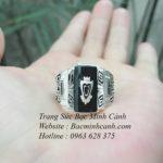 Nhẫn cựu bình mỹ bằng bạc NN040