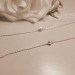 Lắc Chân nữ bằng bạc đẹp LCNU004