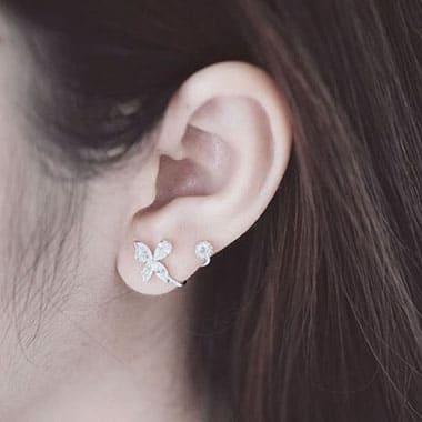 Khuyên tai đeo vành tai BT078