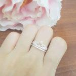 Nhẫn bạc nữ vương miện nữ hoàng NNU071