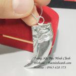 Mặt dây chuyền vuốt hổ bằng bạc MN022