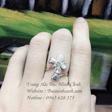 Nhẫn bạc nữ NNU074