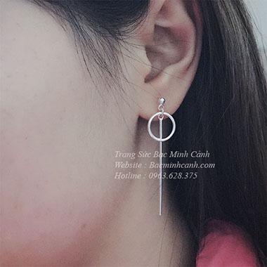 Khuyên tai dáng dài BT089