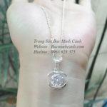 Dây chuyền Chanel đá giữa DCNU155
