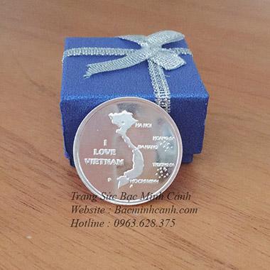 Đồng bạc đánh gió Bản đồ Việt Nam