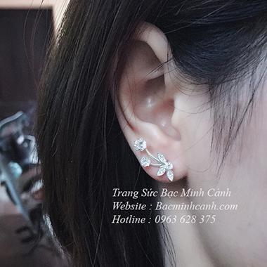 Bông tai đeo trên vành tai Ear Cuff BT102