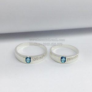 Nhẫn đôi bạc Trọn Đời