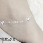 Lắc chân bạc nữ đáng yêu LCNU025