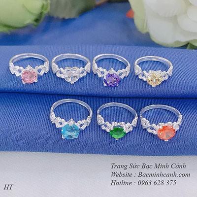 Nhẫn đá phong thủy cho nữ NNU012