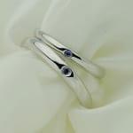 Nhẫn đôi bạc Lặng Yêu