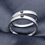 Nhẫn đôi bạc Lúc Mới Yêu