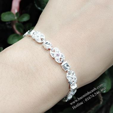 Lắc tay bạc nữ cá tinh LTNU021