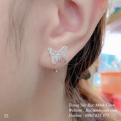 Bông tai hình bướm xinh xắn BT070