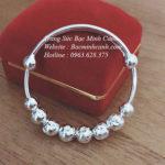 Lắc tay bạc cho trẻ sơ sinh TE051