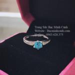Nhẫn nữ bạc đẹp NNU026