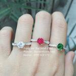Nhẫn bạc nữ đơn giản NNU041