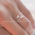 Nhẫn mũi tên Midi Ring NNU034
