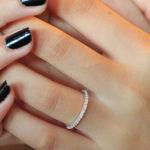 Nhẫn nữ đá xinh NNU014