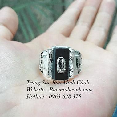 Nhẫn mỹ bạc 1996 NN025