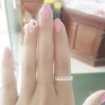 Nhẫn bạc nữ thời trang NNU043