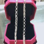 Vòng đeo cổ bằng bạc dành cho trẻ em TE050