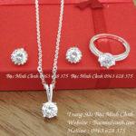 Bộ trang sức bạc Tiny BTS018