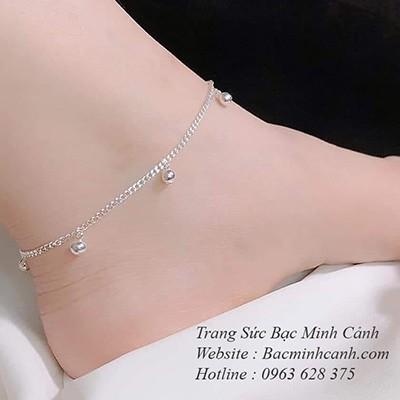 Lắc chân nữ hoạ tiết chuông kêu LCNU045