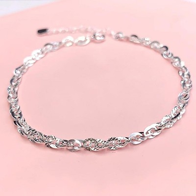 Lắc tay bạc nữ LTNU013