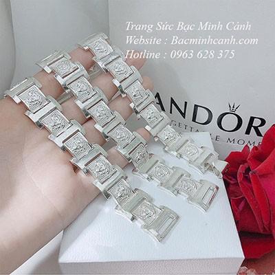 Lắc tay bạc nam Versace LTN026