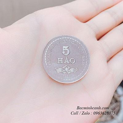 Đồng bạc đánh gió 5 hào DX009