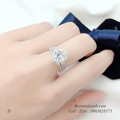 Nhẫn bạc nữ NNU146